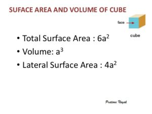 java program curved surface area of cube