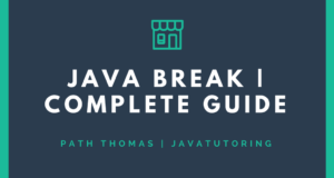 Java Break - Complete Guide