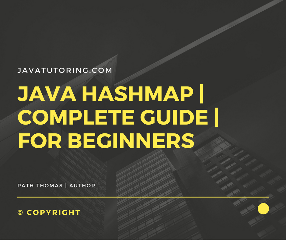 Java Hashmap - Tutorial With Examples